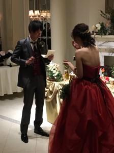 哲 結婚式1